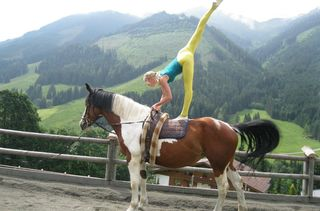 Riding at the Altachhof in Saalbach