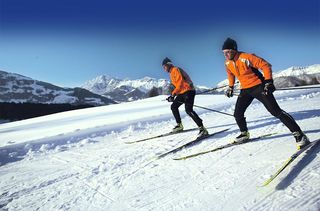 Cross-country skiing in Saalbach Hinterglemm